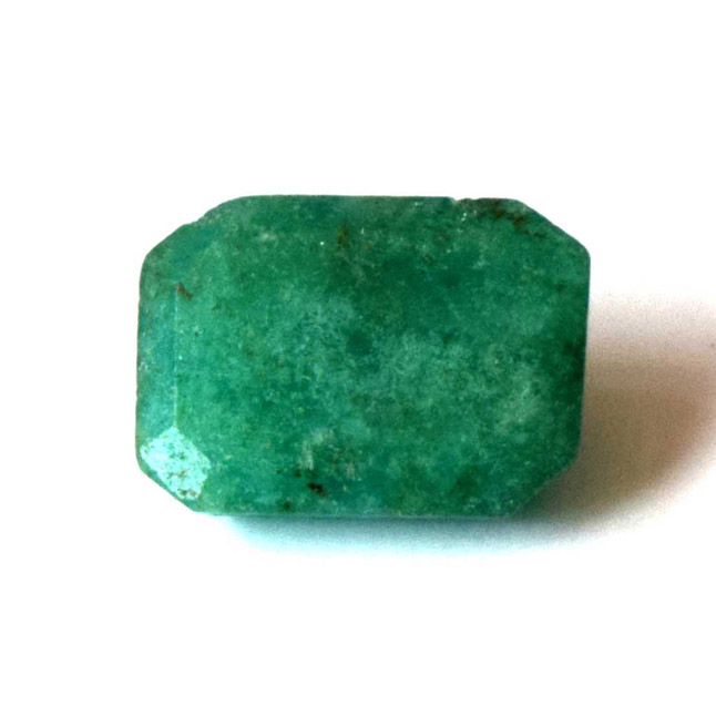 1.75cts Real Natural Rectangle Faceted Green Emerald Gemstone for Astrological Purpose (1.75cts Emerald)