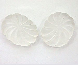 22.87 ct Oval shaped Loose Crystal -Fancy Cut Crystals