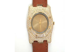 3.25 cts Diamond Watch -Diamond Watch