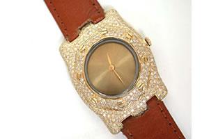 Buy 3.25 Cts Men's Diamond Watch Online
