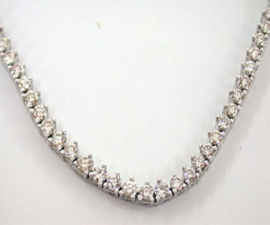 6.01ct Solitaire Diamond Necklace -Diamond Necklace