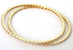 Amorous Bangle -Diamond Bangles
