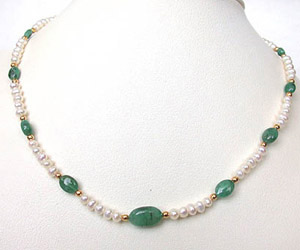 Beauteous -Emerald Pearl