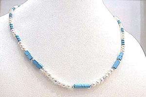 Blue Trinket -Single Line