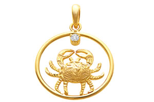 Cancer Pendants -Zodiac Signs