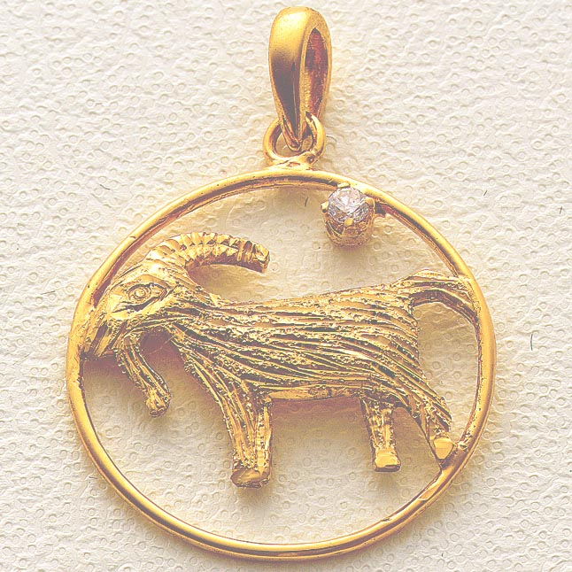 Capricorn Pendants -Zodiac Signs