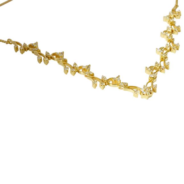2.26 cts Classic Design Diamond Necklace Pendants -Diamond Necklace