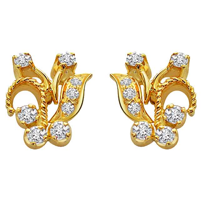 Diamond Desirable Earrings -Designer Earrings