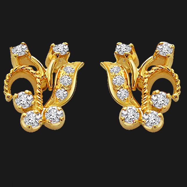 Diamond Desirable Earrings -Designer Earrings