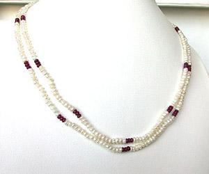 Embellishment -Ruby+Pearl