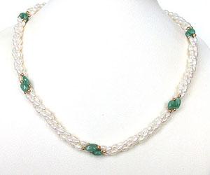 Finery Jewel -Emerald Pearl
