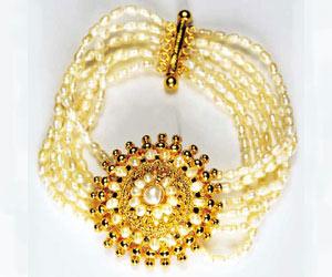 Glitters SB2 -Pearl Bracelet