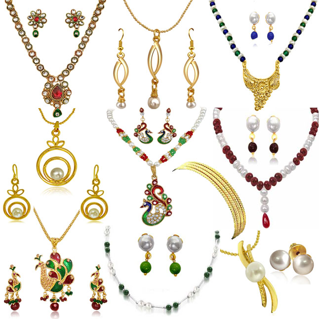 H1327 - 10 Set Jewellery Hampe