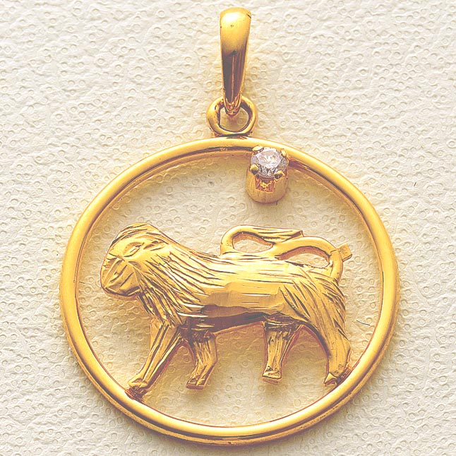 Leo Pendants -Zodiac Signs