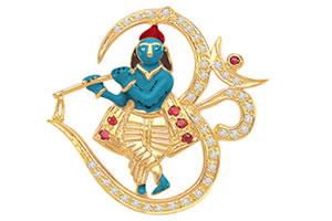 Om Krishna Blessing -Religious