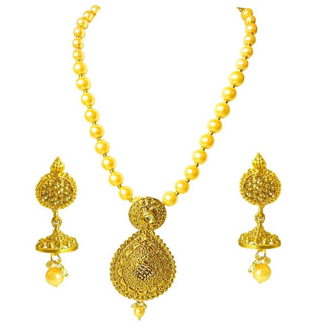 Traditional Necklace & Earring Fashion Jewellery Set for Women PS379