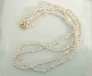 Pearl Imperial -2 To 3 Line Necklace