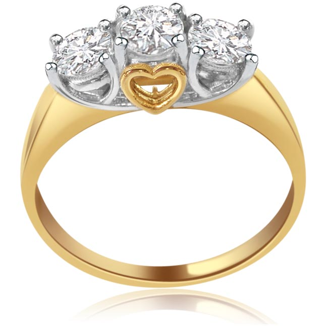 Poetic Beauty -3 Diamond rings