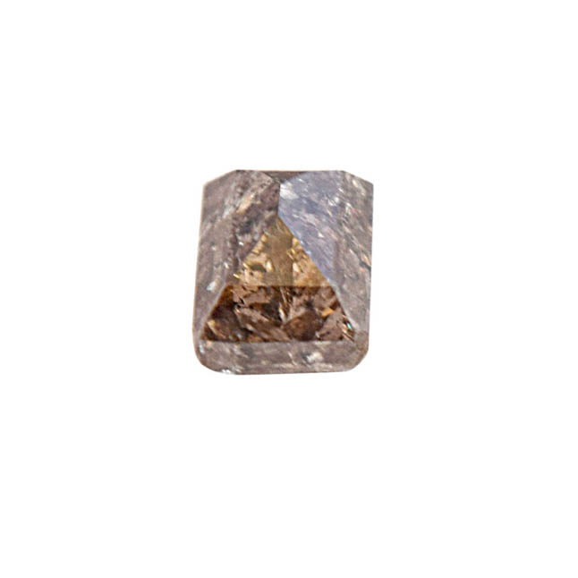 SDJ Certified 1.66 cts Light Brown/I3 Baguette Shaped Real Natural Diamond for Engagement Ring