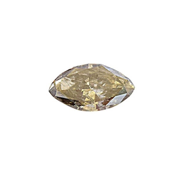 IGL Certified 1.69 cts Fancy Chamelon/I2 Marquise Shaped Real Natural Diamond for Engagement Ring