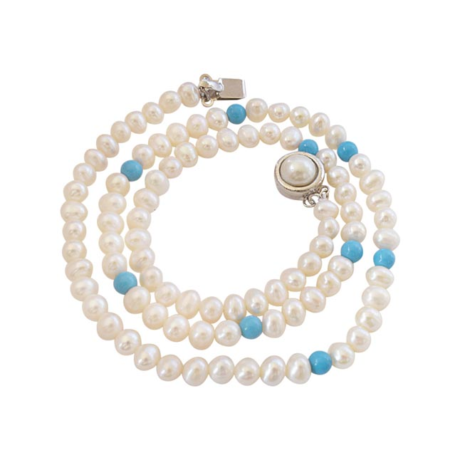 Fancy Pearl Necklace