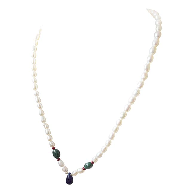 Stars In Her Eyes -Precious Stone Necklace