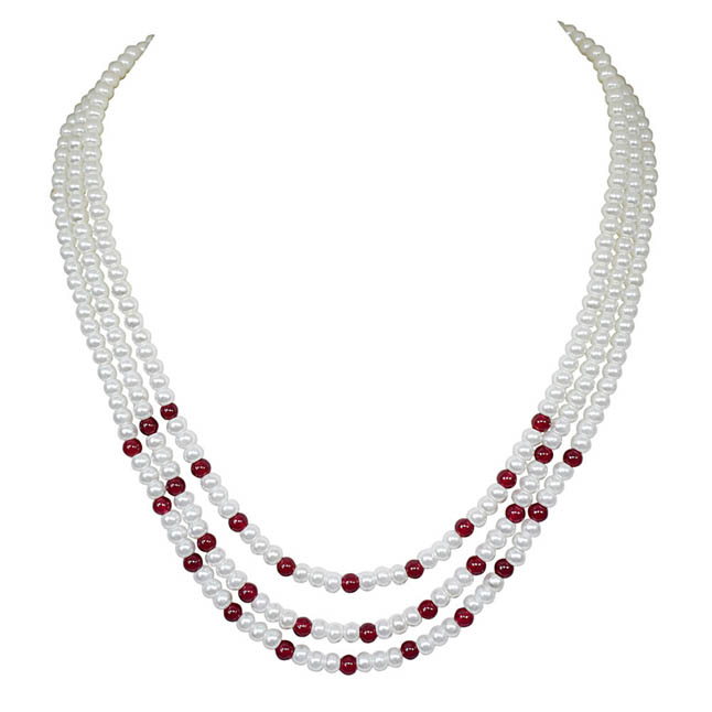Ornamentation -2 To 3 Line Necklace