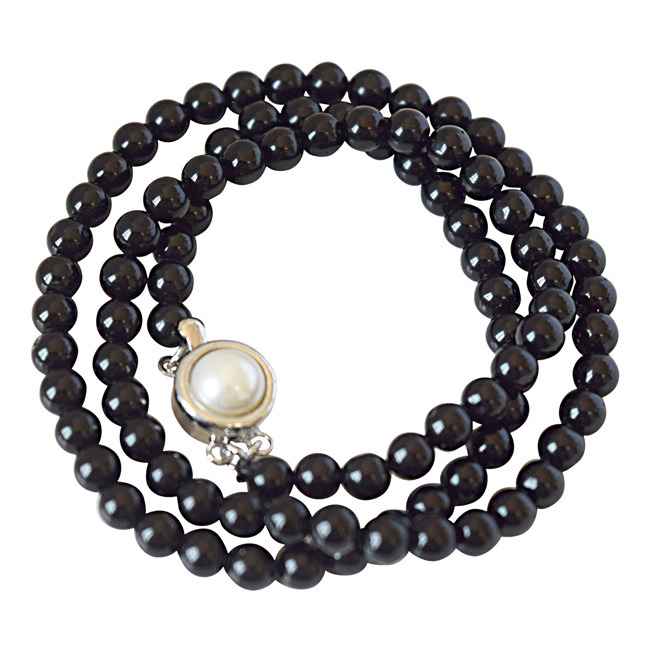 Single Line Beads: Buy Single Line Necklaces Set And Mangalsutra Online