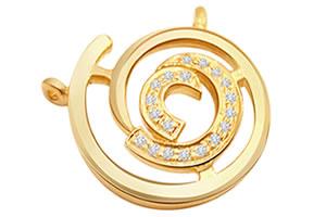 Spiral Beauty P138 -Designer Pendants