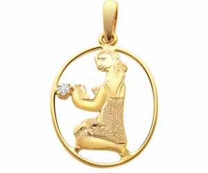 Virgo Pendants -Zodiac Signs