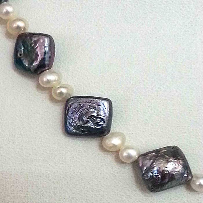 A Beautiful Single Line Fresh Water Pearl Necklace -Single Line