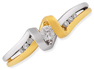 A Woman of Substance -White Yellow Gold rings