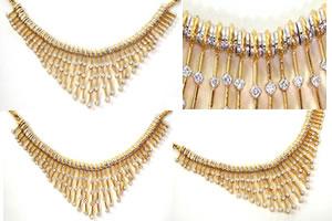 1.80ct Bridal Diamond Necklace Set -Diamond Set