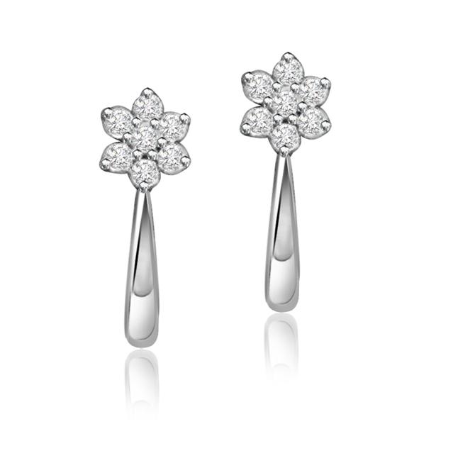 Adorably you ER -114 -Flower Shape Earrings