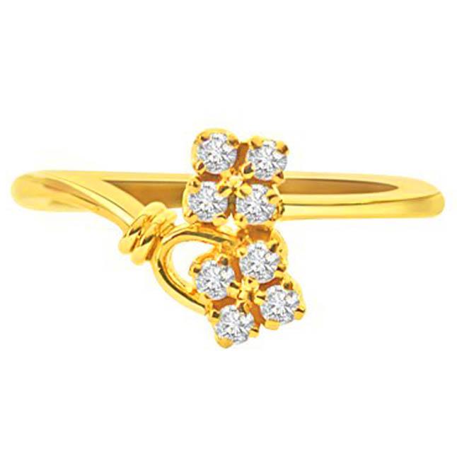 Affectionately Allurings Diamond rings