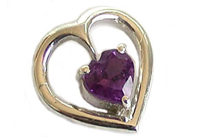 Amethyst Allure -Gemstone Pendants