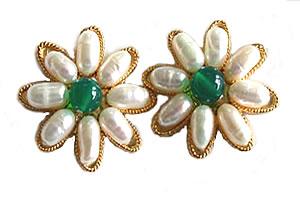 Be My Guardian Angel SE -31 -Flower Shape Earrings