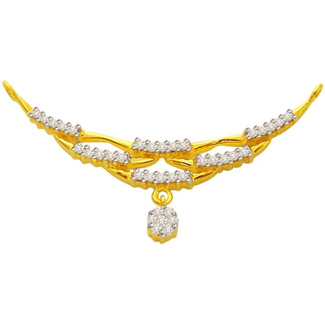 Beautifully Designed Diamond Necklace Pendants DN70