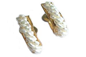 Bejeweling Pearl Balis -Balis & Hoops