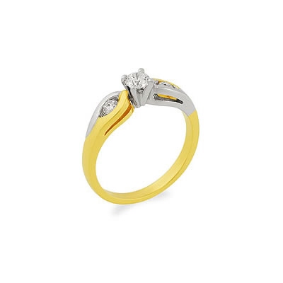 Believe In You -White Yellow Gold rings