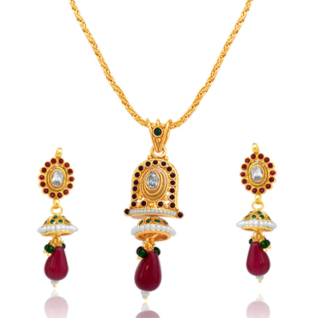 Bell Shaped Polki Set