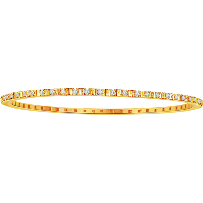 Bejeweled Bangle -Diamond Bangles