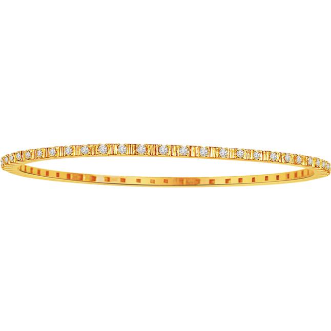 Bejeweled Bangle -Diamond Bangles