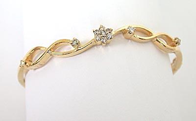 Feminine Grace Guaranteed -Diamond Bracelets