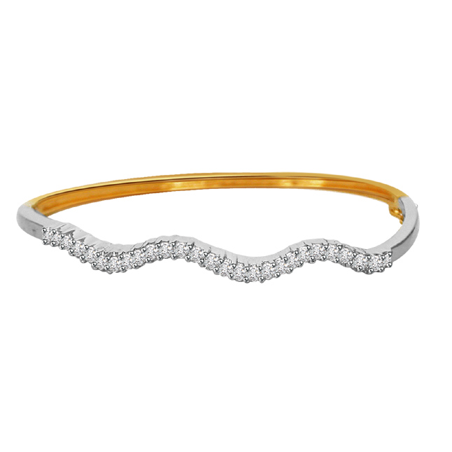 BG -15 A Bangle To Dangle -Diamond Bracelets
