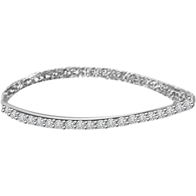 The Princess -0.50 ct Diamond Bracelet -Diamond Bracelets