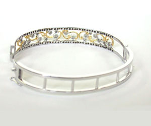 Sparkling Stars Together 1.16ct Diamond Studded Bracelet -Diamond Bracelets