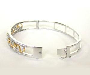 Sparkling Stars Together 1.16ct Diamond Studded Bracelet -Diamond Bracelets