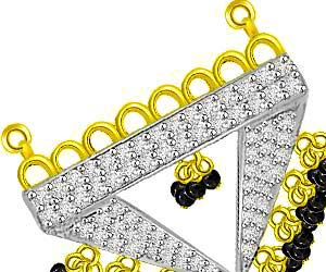 Birth Of Life Gold & Diamond Mangalsutra Pendants