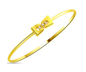 Bow -tifully Yours -0.04 cts Diamond Bracelets